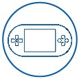 logo-jeu-vidéo-en-ligne-formation-distance-blended
